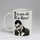 Emotional Rescue Not Old I'm Retro Mug In Gift Box