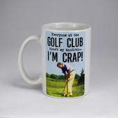 Emotional Rescue Crap Golf Handicap Mug In Gift Box