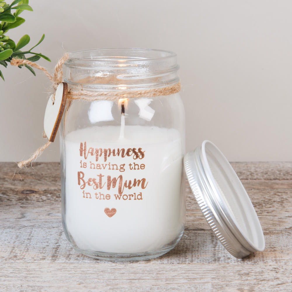 Best Mum Scented Candle In Mason Jar Lovely Gift