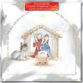 Pack of 6 The Nativity Charity Christmas Cards Supports Multiple Charities