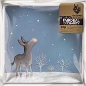 Pack of 8 Shooting Star Donkey Sanctuary Charity Christmas Cards