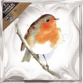 Pack of 8 Red Robin CLIC Sargent Fairdeal Charity Christmas Cards