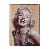 Marilyn Monroe Glitter Lined A5 Notebook