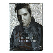 Elvis Presley Glitter Lined A5 Notebook