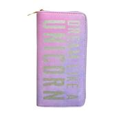 Pink Dream Like A Unicorn Zip Around Purse