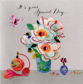 Special Day Birthday Embellished Greeting Card