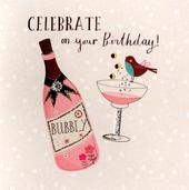 Celebrate Embellished Birthday Greeting Card