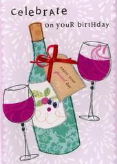 Celebrate Your Birthday Embellished Greeting Card