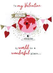To My Valentine Irresistible Valentine's Greeting Card