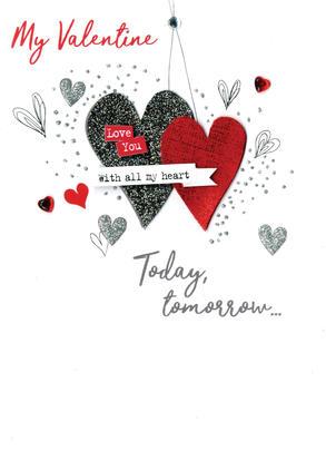 My Valentine Forever Irresistible Valentine's Greeting Card