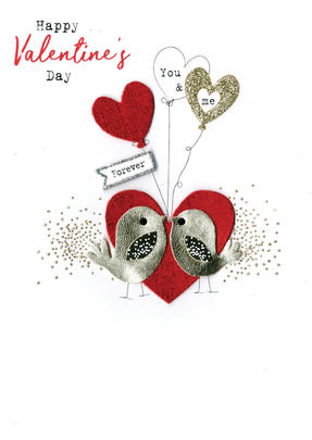 You & Me Forever Irresistible Valentine's Greeting Card