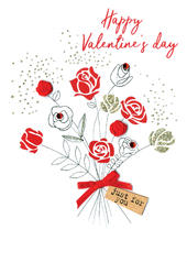 Happy Valentine's Day Irresistible Greeting Card