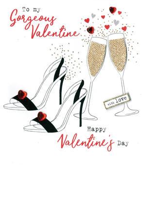 Gorgeous Valentine Irresistible Valentine's Greeting Card