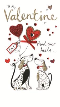 To My Valentine Embellished Valentine's Card