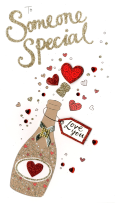 Someone Special Embellished Valentine's Card