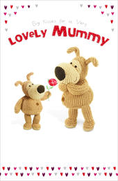 Boofle Valentine's Card For A Very Lovely Mummy Cute Greeting Card