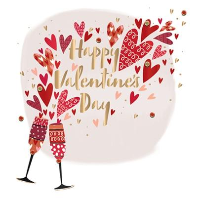 Happy Valentine's Day Card Love You Loads Fifth Avenue Greeting By Talking Pictures