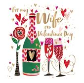 Wife Valentine's Day Card Fifth Avenue Greeting By Talking Pictures