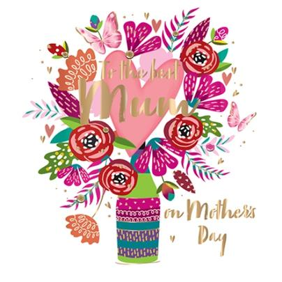 Mother's Day Card To The Best Mum Fifth Avenue Greeting By Talking Pictures