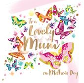 Mother's Day Card To A Lovely Mum Fifth Avenue Greeting By Talking Pictures