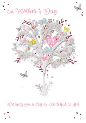 On Mother's Day Card With Love Handmade Greeting By Talking Pictures
