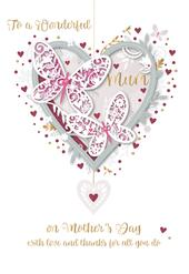 Mother's Day Card To A Wonderful Mum Handmade Greeting By Talking Pictures