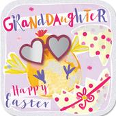 Easter Greeting Card For A Granddaughter Handmade By Talking Pictures