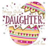 Easter Greeting Card For A Daughter Handmade By Talking Pictures