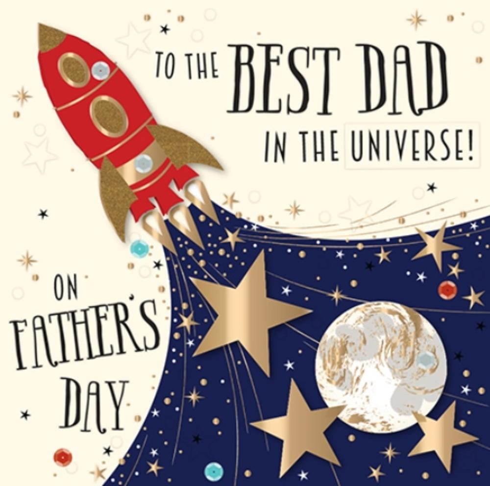 DAD YOU/'RE A STAR Pin Badge father/'s day fathers birthday Brand New