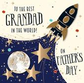 Father's Day Card Best Grandad In The World Greeting By Talking Pictures