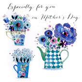 On Mother's Day Card Especially For You Embellished Hand-Finished Card