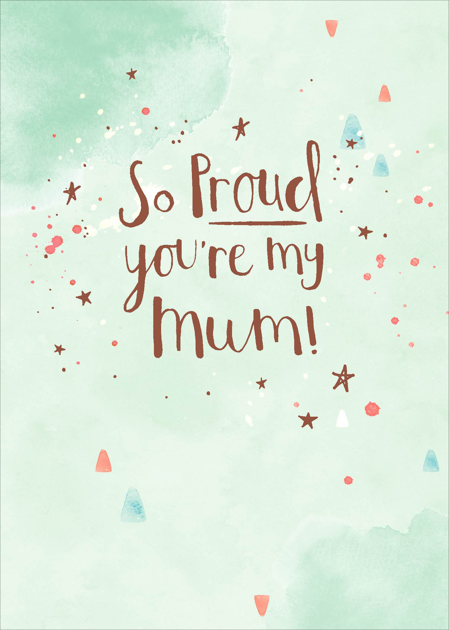For You Mum Birthday Card by Macaroon Cards. with lots of love