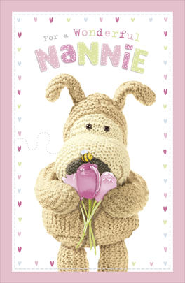 Boofle Nannie Mother's Day Card