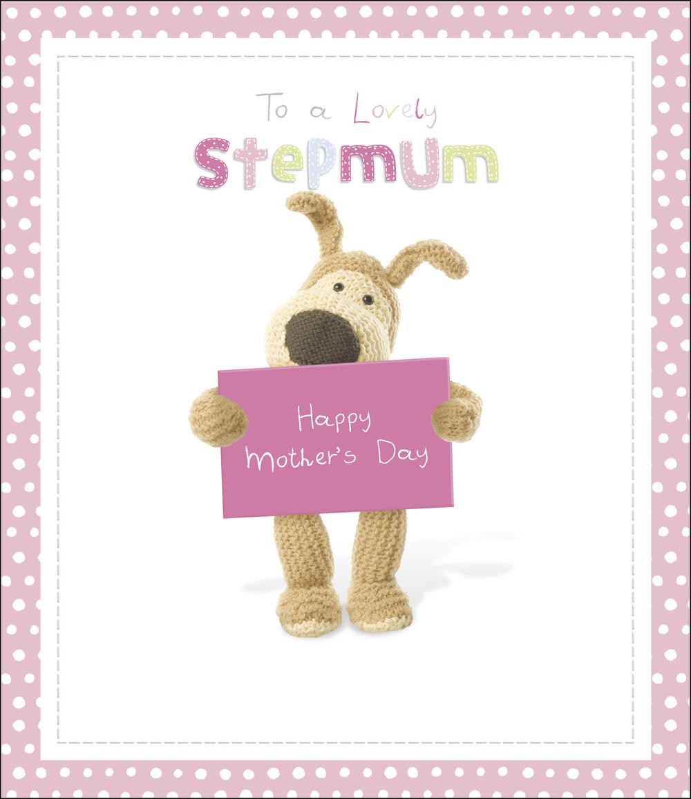 Boofle Stepmum Mother's Day Card