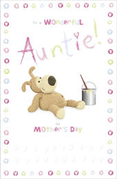 Boofle Auntie Mother's Day Card