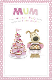 Boofle Mum Mother's Day Card