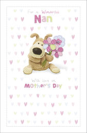 Boofle Nan Mother's Day Card