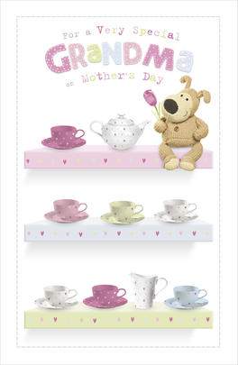 Boofle Grandma Mother's Day Card
