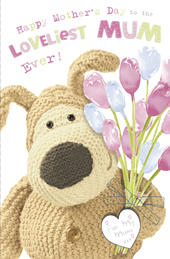 Boofle Mother's Day Card Loveliest Mum Ever