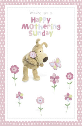 Boofle Mother's Day Card Happy Mothering Sunday