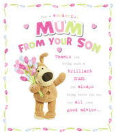 Boofle Mother's Day Card To Mum From Son