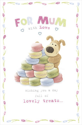 Boofle Mother's Day Card For Mum With Love