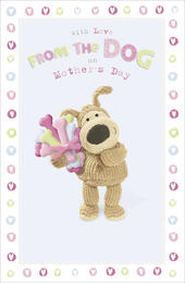 Boofle Mother's Day Card From The Dog Mum