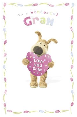 Boofle Gran Mother's Day Card