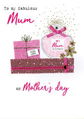 Mother's Day Card My Fabulous Mum