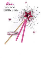 Mother's Day Card Mum My Shining Star