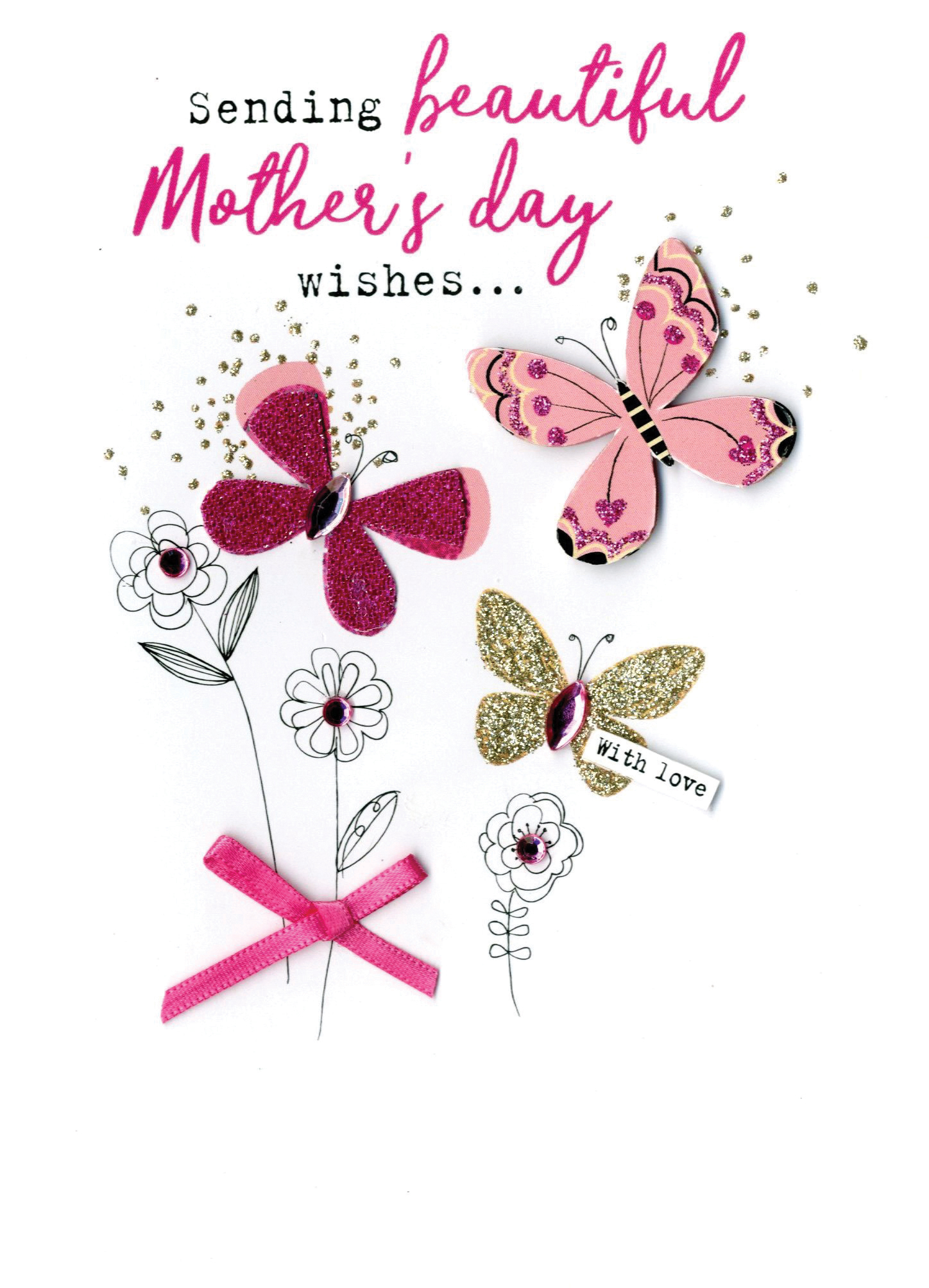 Mother's Day Card Beautiful Mothers Day Wishes   Cards
