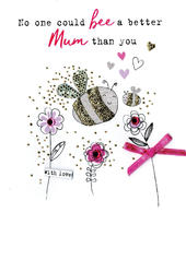 Mother's Day Card No One Could Bee Better