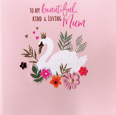 Mother's Day Card Kind & Loving Mum