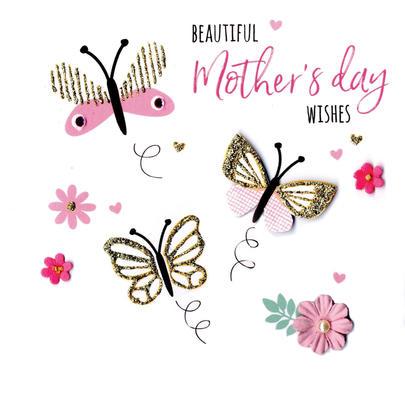 Mother's Day Card Beautiful Butterflies